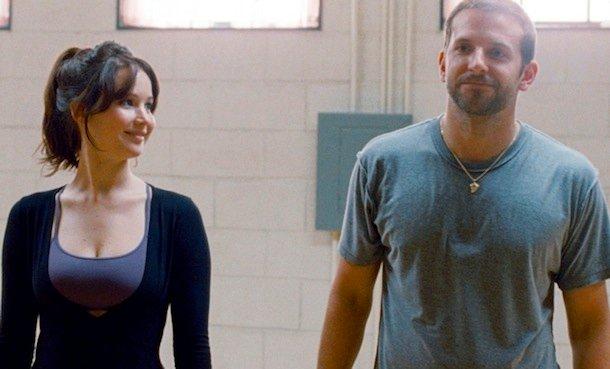 Jennifer Lawrence i Bradley Cooper w