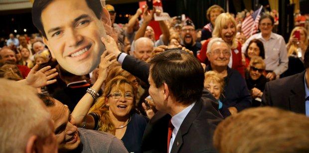 Marco Rubio po głosowaniach w