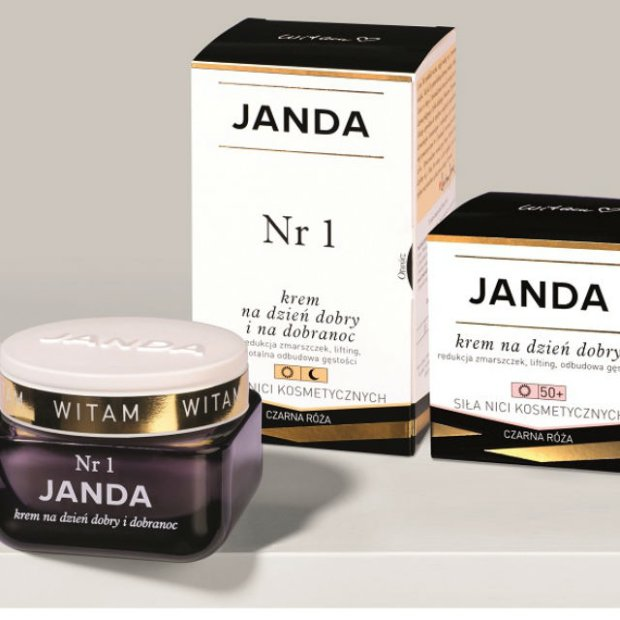 JANDA: linia kosmetyków do pielęgnacji stworzona przez Krystynę Jandę