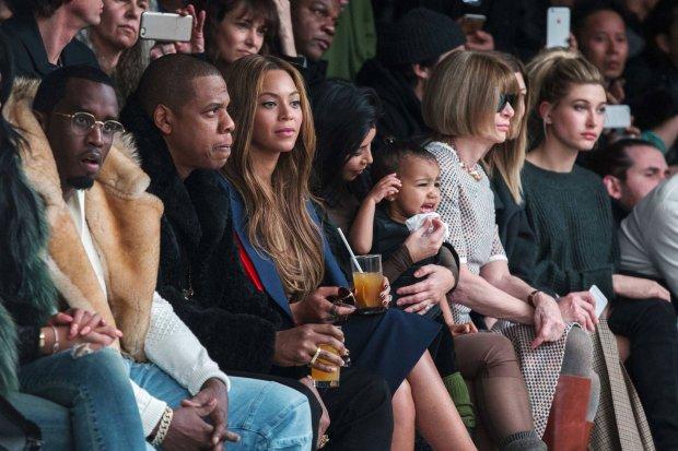 Jay-Z, Beyonce, Kim Kardashian, Anna Winour