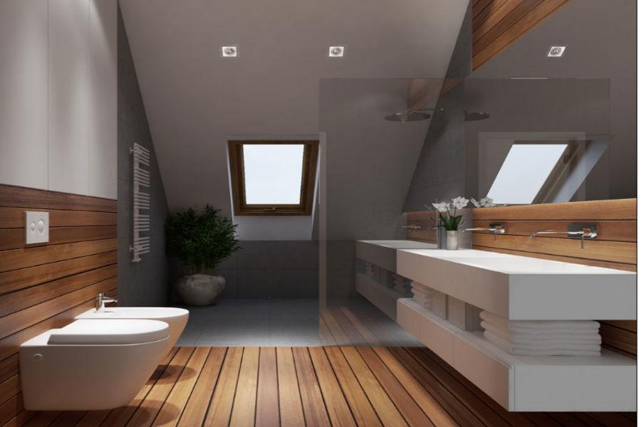 Podłoga w łazience