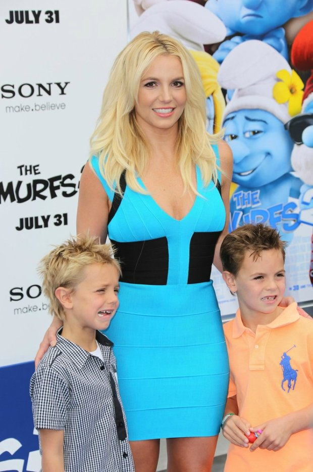 Britney Spears z synami