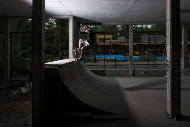 skateborading