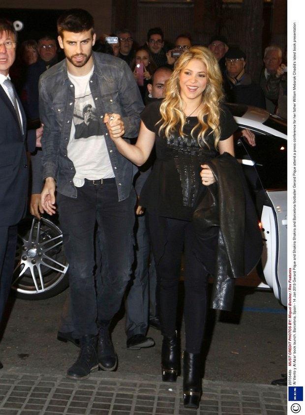 Shakira i jej chłopak Gerard Pique,ciąża, brzuszek, dziecko