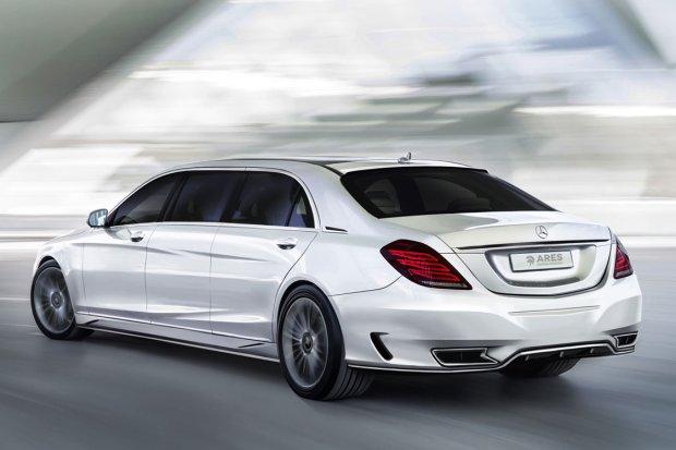 Mercedes klasy S Ares Design przedłużony