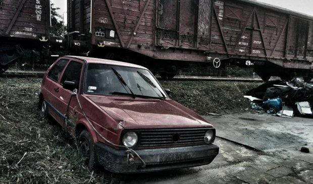 Nawet Mad Max nie ruszyłby tym złomem... fot. Dominika Węcławek