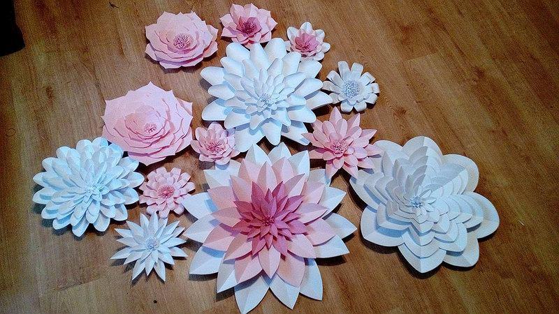Wszystkie nowe Kwiaty z papieru - dekoracja na co dzień i od święta GF62