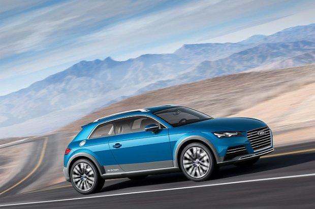 Audi allroad shooting brake   Nowe pomysły