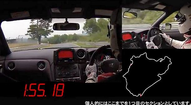 Rekordowy przejazd Nissana | Wideo