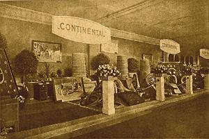 Salon opon marki Continental