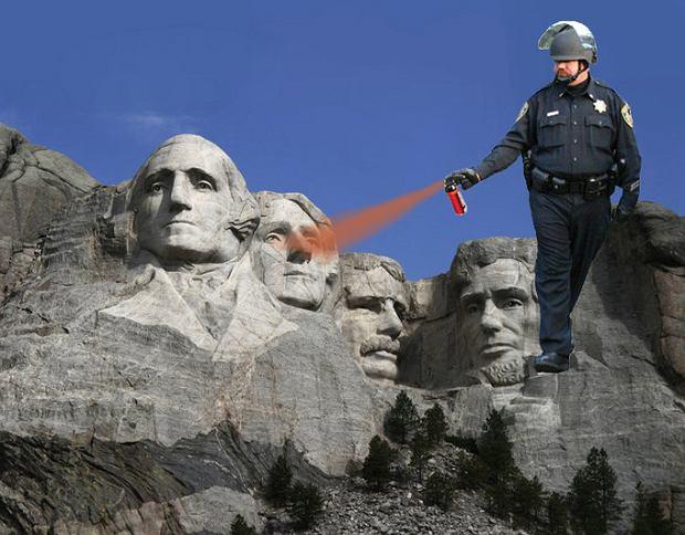 Pepper Spray Cop