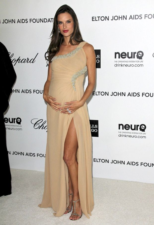 ??NATIONAL PHOTO GROUP   20th Annual Elton John AIDS Foundation Academy Awards Viewing Party at the  Pacific Design Center in West Hollywood.  Job: 022712C6 Pictured: Alessandra Ambrosio  .  February 26th, 2012 Los Angeles, CA  NPG.com