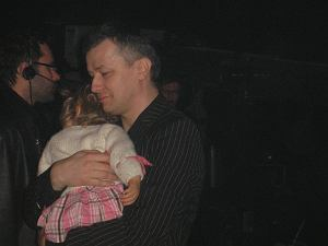 Krzysztof Majchrzak z córką Mirą