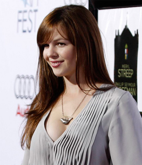 Amber Tamblyn fot. AP Photo/AG