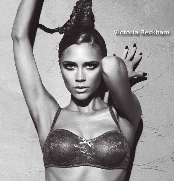 Victoria Beckham dla Emporio Armani fot. East News