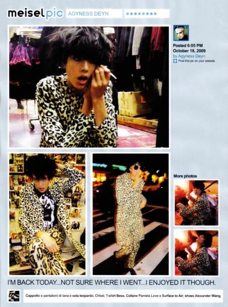 Vogue Italia grudzień 2009