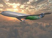 Samolot przyszłości wg projektu firmy Lockheed-Martin.