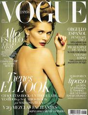 Małgosia Bela Vogue Espana lipiec 2011