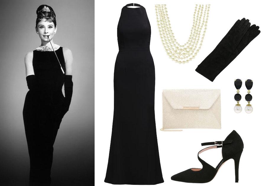 Sukienka na studniówkę w stylu Audrey Hepburn
