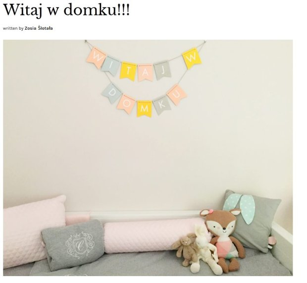 Screen z babyboomzosi.pl