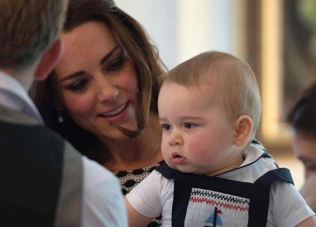 Księżna Kate i książę George