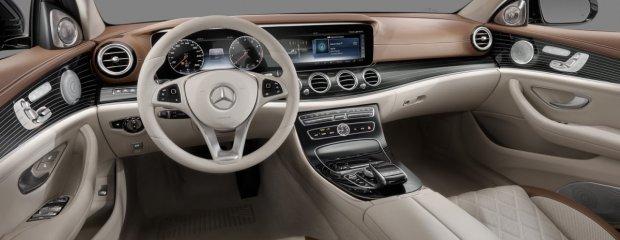 Mercedes Klasy E   Luksus ma na drugie Mercedes