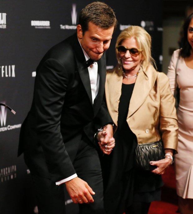 Bradley Cooper z mamą, Glorią Cooper