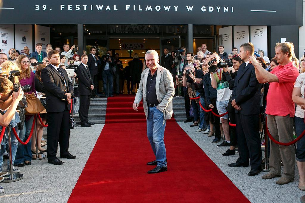 Krzysztof Materna podczas 39. Festiwalu Polskich Filmów Fabularnych w Gdyni (fot. Łukasz Głowala / Agencja Gazeta)