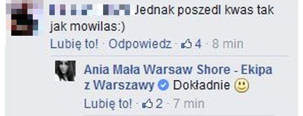 Mała Ania z Warsaw Shore
