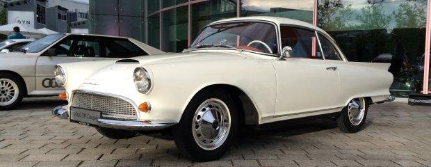 Wystawa historycznych Audi w Ingolstadt
