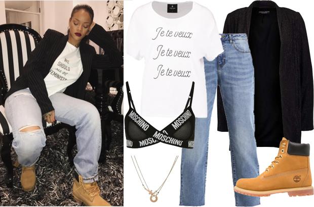 T-shirt Dior We should all be feminists - Doda i Rihanna