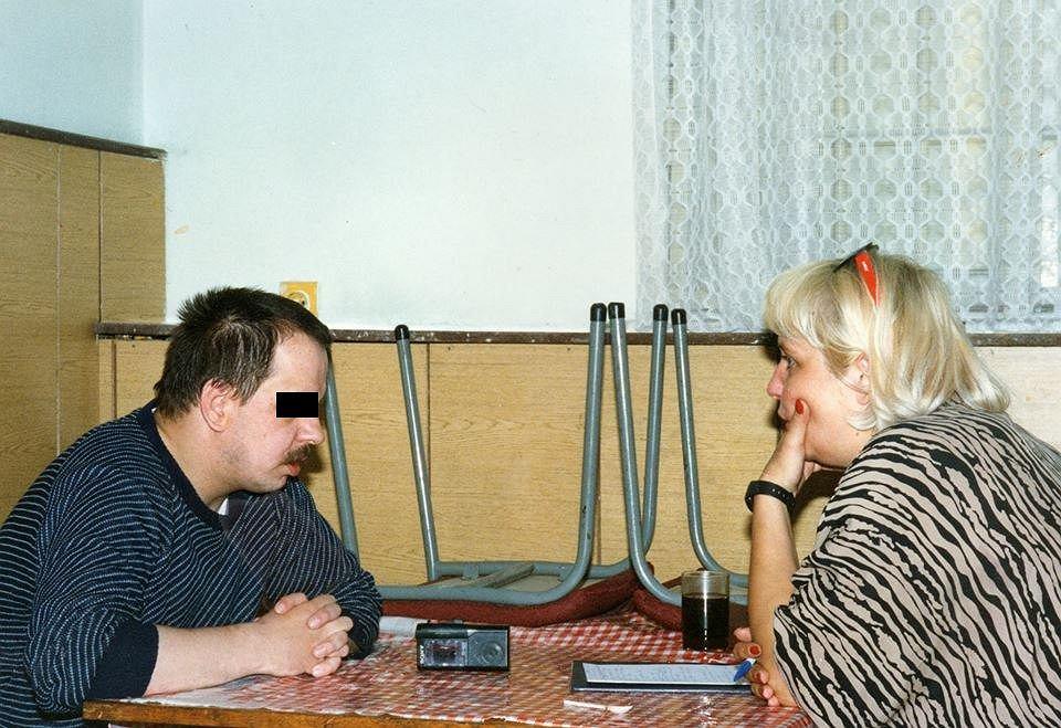 Magda Omilianowicz w rozmowie z Leszkiem Pękalskim (fot. archiwum prywatne)