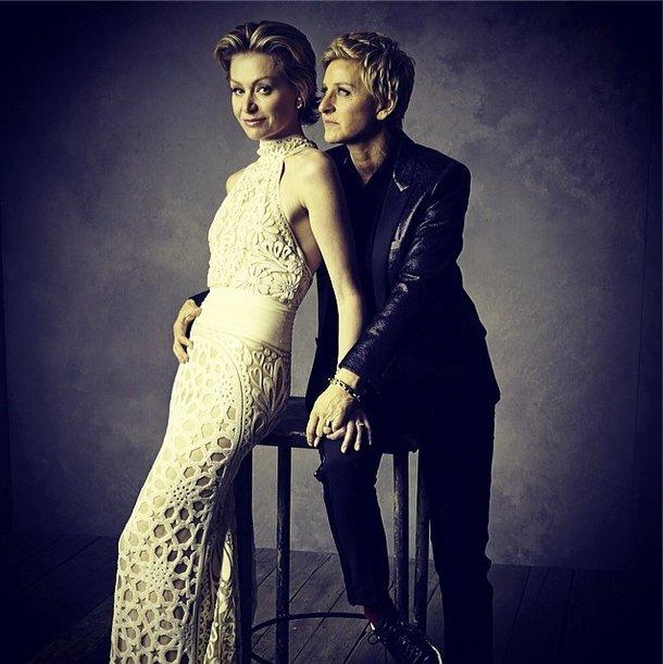 Instagramowa sesja Vanity Fair:Portia de Rossi i Ellen DeGeneres