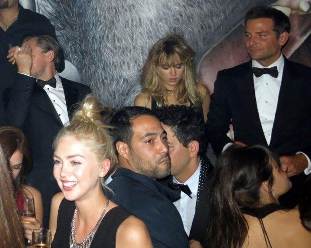 Leonardo DiCaprio, Suki Waterhouse, Bradley Cooper