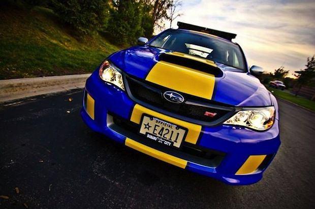 Policyjne Subaru Impreza WRX STI