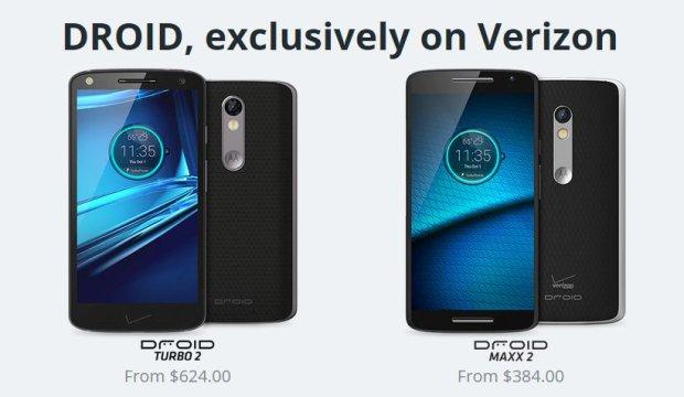 Motorola Droid Maxx 2 i Droid Turbo 2