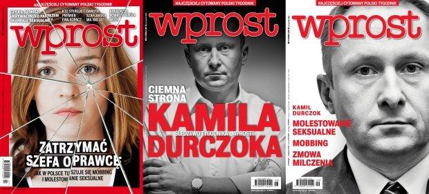 Kamil Durczok na okładkach