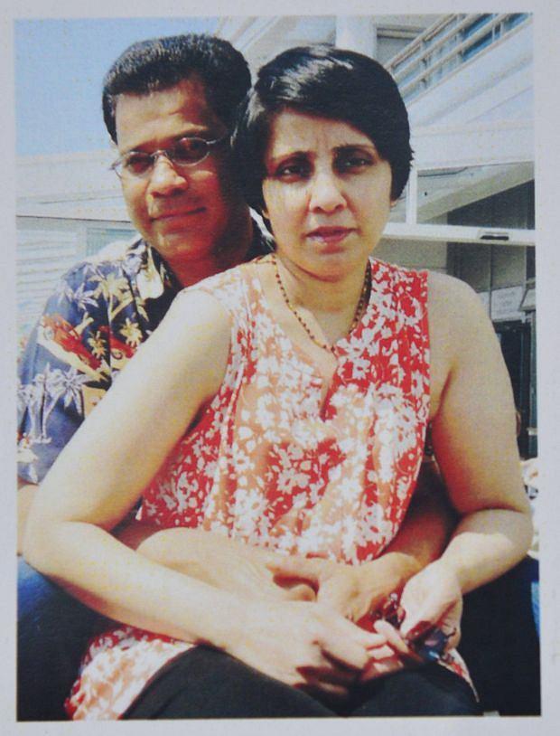 Jacintha Saldanha, mąż, Ben Barboza