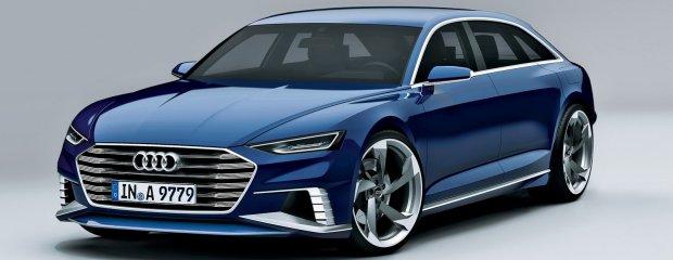 Salon Genewa 2015 | Audi A9 Prologue Avant concept | Rywal CLS-a