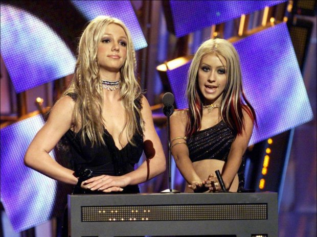 Christina Aguilera i Britney Spears