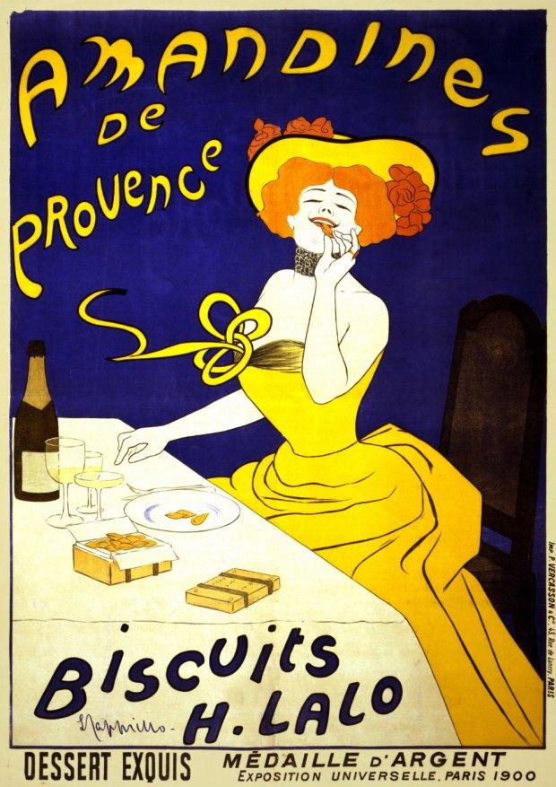 Celebruj deser przy herbacie. Czy to było wino? (Leonetto_Cappiello, Wikimedia Commons)