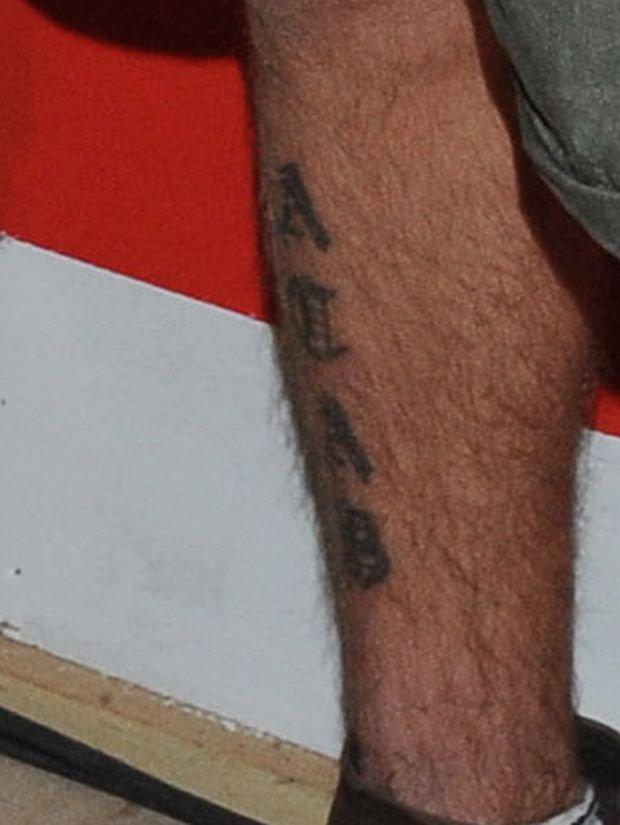 Daniel Dziorek - tatuaż