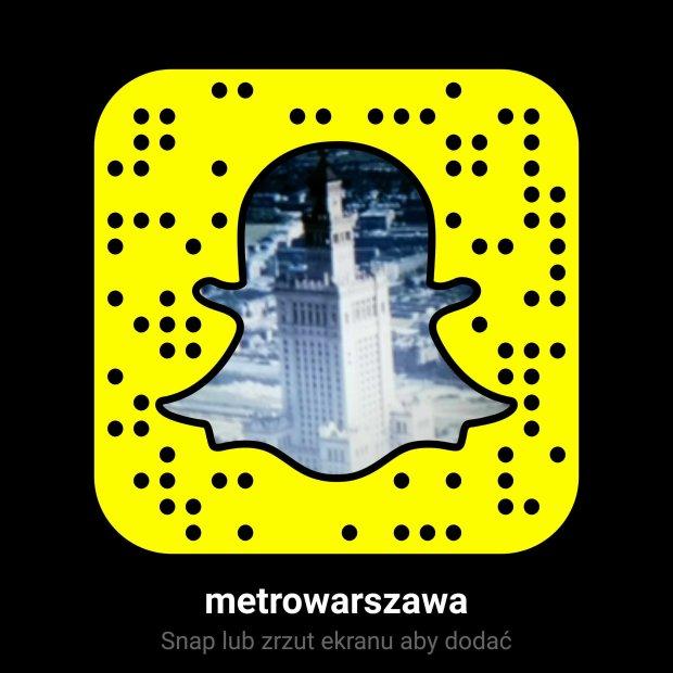 Snapchat metrowarszawa.pl
