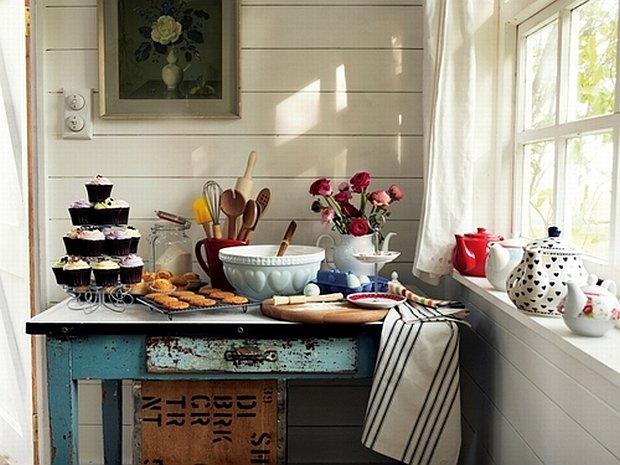 Aranżacja kuchni w stylu retro