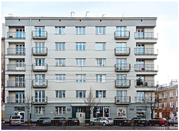 Kamienica przy ul. Grochowskiej 221 - po remoncie