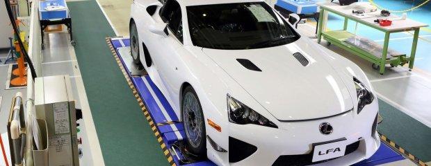 Ostatni Lexus LFA | Galeria