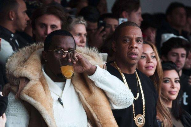 Sean Combs, Jay-Z, Beyonce i Kim Kardashian