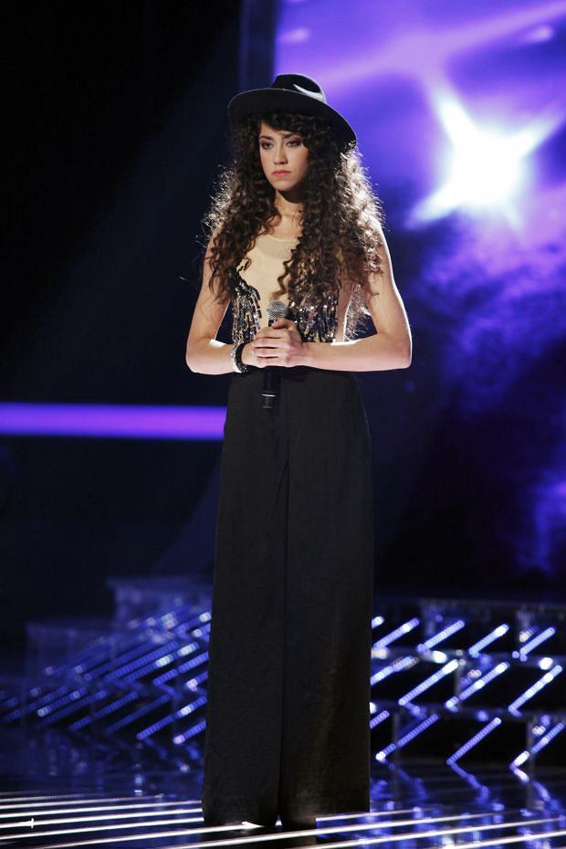 X Factor III, Live 04  Maja Hy?y  Foto: Grzegorz Press