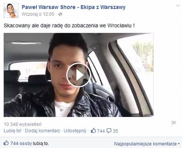 Paweł z Warsaw Shore