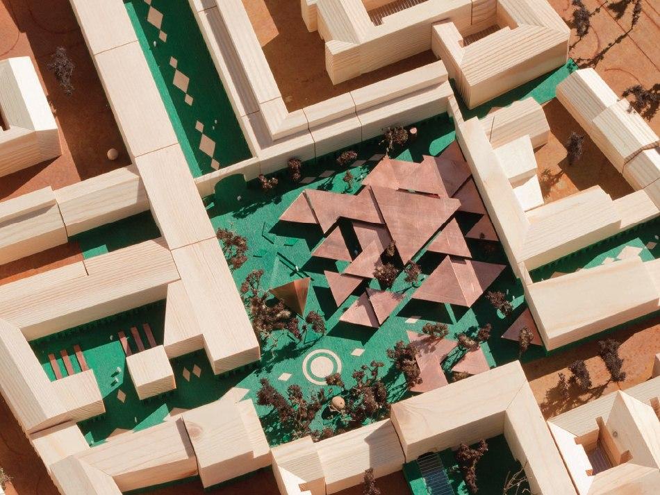 Bazar Różyckiego po rewitalizacji - widok z góry (materiały projektowe)